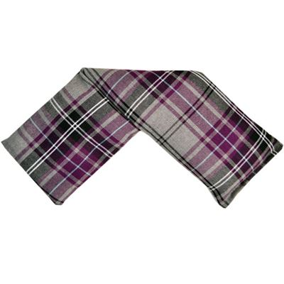 Tartan Wheat Wrap in Acetate Gift Box
