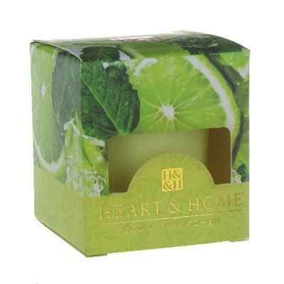 Lime Splash Heart & Home Votive Candle