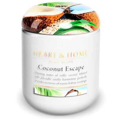 Coconut Escape Candle in Jar 30 Hour